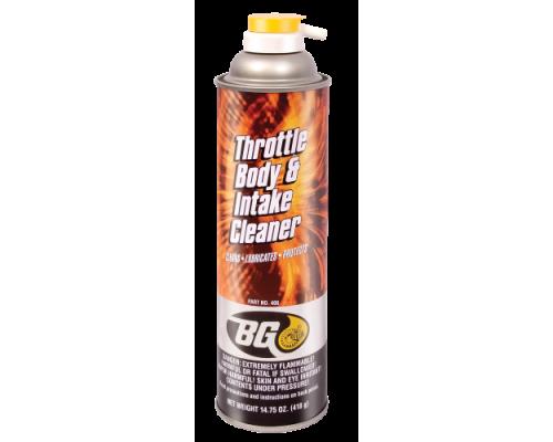 Аэрозольный очиститель системы воздухозабора BG 406 (BG Throttle Body & Intake Cleaner)