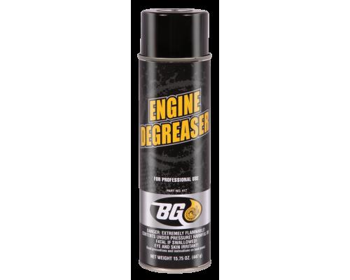 Наружный очиститель двигателя аэрозоль BG 417 (465мл 12шт/уп) (BG Engine Degreaser № 417)