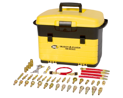 Набор адаптеров для дизельных двигателей BG 9700-200 (BG Complite Diesel Inject-A-Flush Fittings Kit No. 9700-200)
