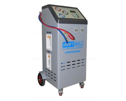 Станция полуавтоматическая для заправки автомобильных кондиционеров KRW134ASA