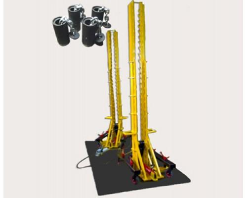 Анкерная напольная система для грузовых автомобилей NS-24