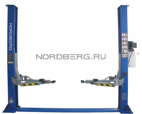 Подъемник двухстоечный Nordberg N4120A-4T, г/п 4 тонны