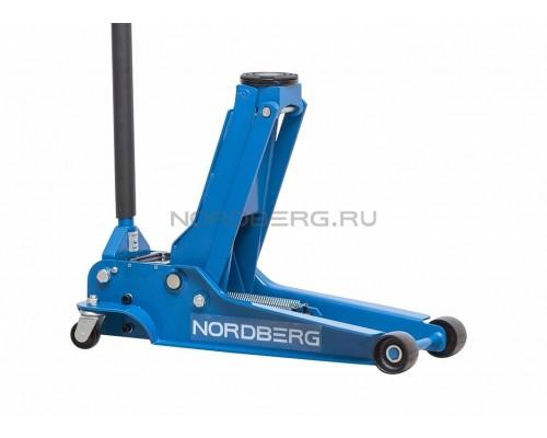 Домкрат подкатной NORDBERG N32035, г/п 3,5 тонны