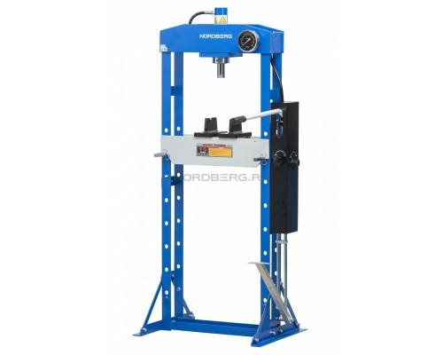 Пресс с ножным приводом NORDBERG N3615F, усилие 15 тонн