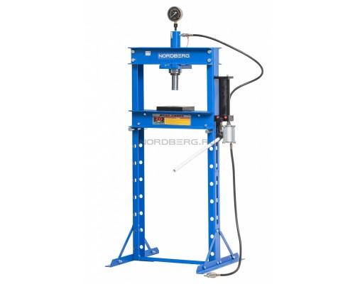 Пресс пневмопривод NORDBERG ECO N3620AL, усилие 20 тонн