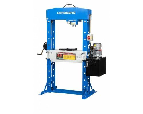 Пресс электрогидравлический NORDBERG N3650E, усилие 50 тонн