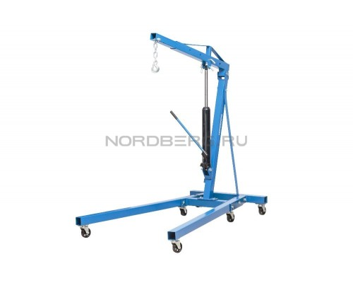 Кран гидравлический складной Nordberg N3720, г/п 2 т