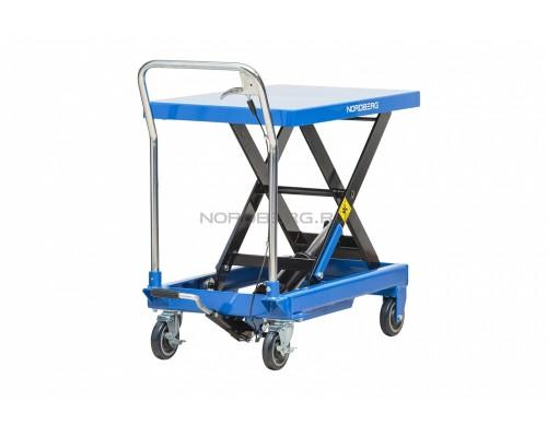 Подъемный стол гидравлический тележка (подъемная платформа) NORDBERG N3T750, г/п 750 кг