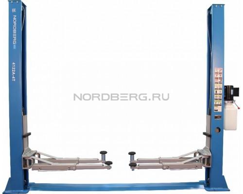Подъемник двухстоечный Nordberg 4122A-4T, г/п 4 тонны