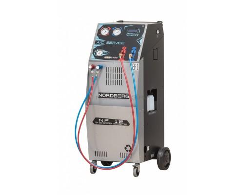 Автоматическая установка для заправки автомобильных кондиционеров Nordberg NF12, 12 л