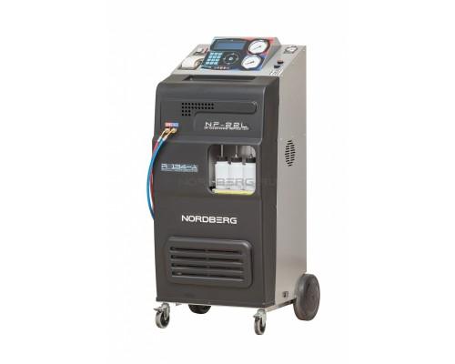 Автоматическая установка для заправки автомобильных кондиционеров Nordberg NF22L, 22 л