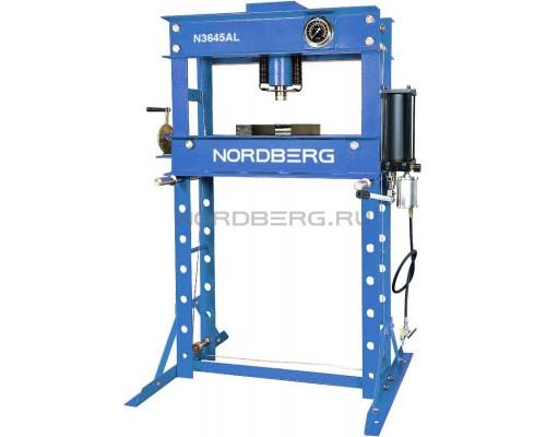 Пресс с пневмоприводом NORDBERG ECO N3645AL, усилие 45 тонн