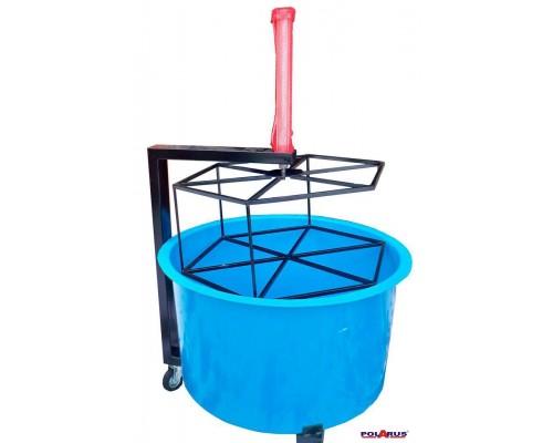 Ванна для проверки колес с пневмоприводом (из стеклопластика)  VG-P