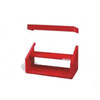 07.200-3000 Основание выставочного 2-секционного стенда (без панелей перфорированных) - красный