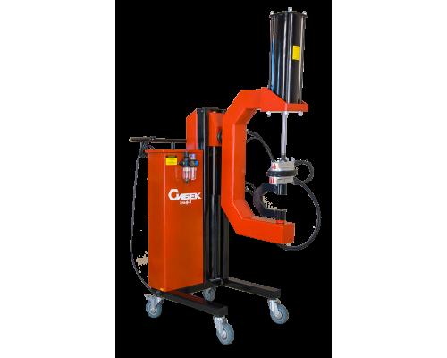 Вулканизатор для грузовых автомобилей Эльф-П (с пневматическим приводом)